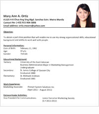 hotel general manager cover letter sample - Resume Sample For Teachers In Philippines